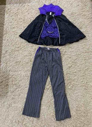 Карнавальный костюм вампир дракула на 9-10лет