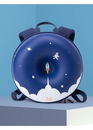 Детский рюкзак пончик синий