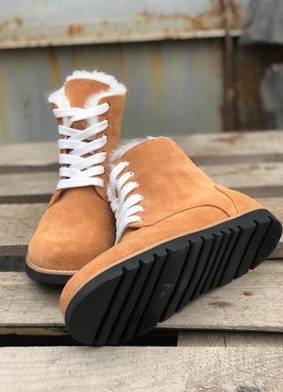 Женские ботинки -угги (большемерят на размер)
