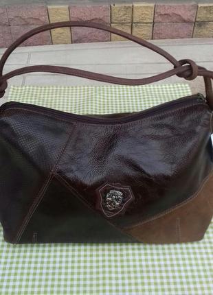 Натуральная кожаная сумка corello