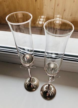 Бокалы для шампанского 🥂 set of two ❤️