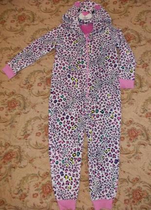 Пижама комбинезон кигуруми человечек на 12-13 лет рост 152-158 см