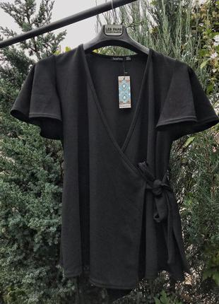 Блуза на запах от boohoo
