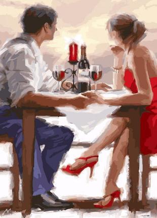 Картина по номерам свидание