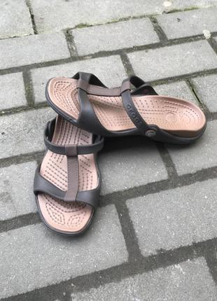 Шлёпанцы crocs оригинал  w8