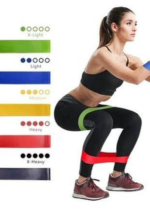 Набір фітнес-резинок loop bands резинки для фитнеса фитнес резинки