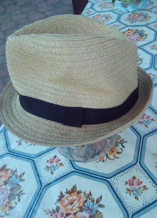 Шляпка соломинная.