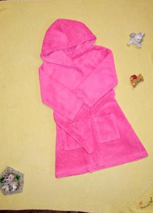Тёплый халат, халат george 3-4 года.