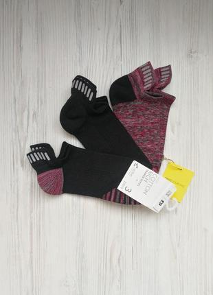 Комплект спортивных носков носки со светоотражателями