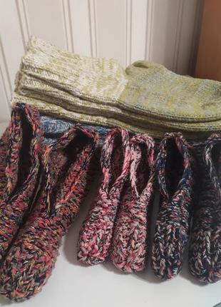 Носочки и тапочки для дома
