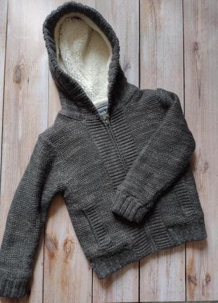 Теплый свитер сна рост 98-104 см