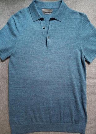 Плотная футболка поло