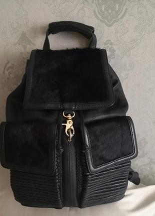 Шикарный брендовый кожаный рюкзак avant premiere💣💣🔥💥