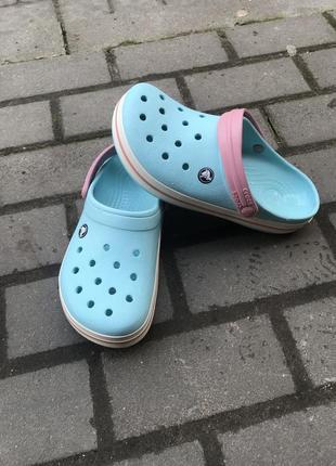 Кроксы crocs оригинал m6-w8