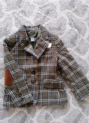 Стильный пиджак zara kids