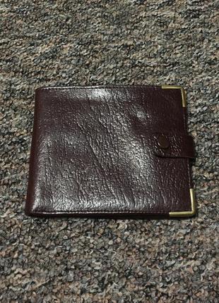 Кожаный кошелёк hand made