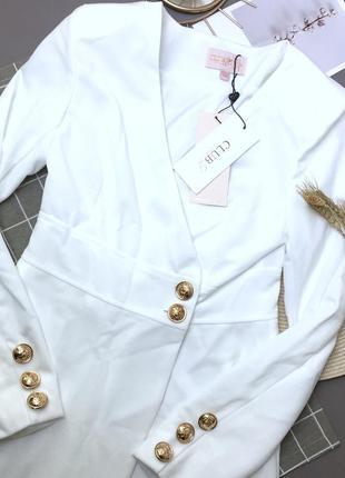 Платье пиджак новое с биркой