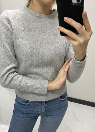 Тёплый мягкий шерстяной свитер кофта гольф джемпер