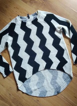 Свитер, джемпер, свитер тонкий, свитер с орнаментом