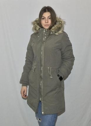 Новая зимняя куртка от house, размер xs