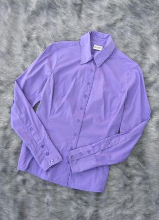 Рубашка блуза трендового фиолетового оттенка street one