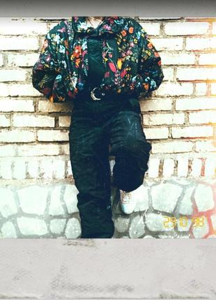Ninety fight by peralp крутой комбинезон 90-х 80-х ретро винтаж цветы
