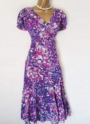 Распродажа расклешенное от бедра платье per una/marks & spencer c аsos