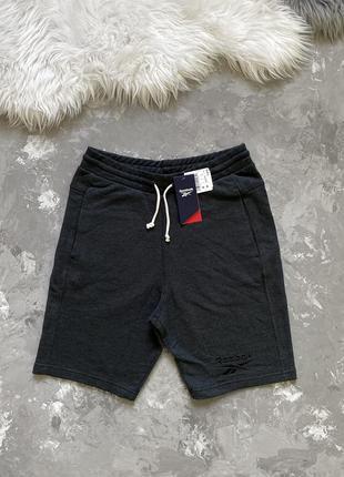 Оригинал! мужские спортивные шорты reebok te melange short