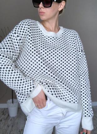 Осень тёплый свитер h&m
