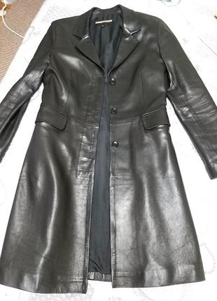 Пальто кожа vent couvert