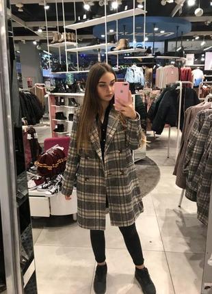 🔥🔥🔥 женское полушерстяное пальто oversize