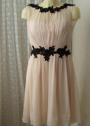 Платье вечернее коктейльное little mistress р.46 №7571