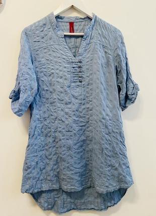 Удлиненнная рубашка vero moda p.xl #1595 новое поступление 1+1=3🎁