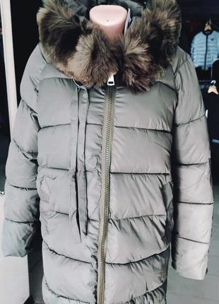 Зимняя куртка размер хл на ог до 92см