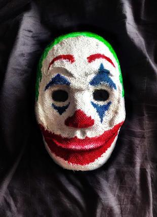 Продам маску джокера для хеллоувина