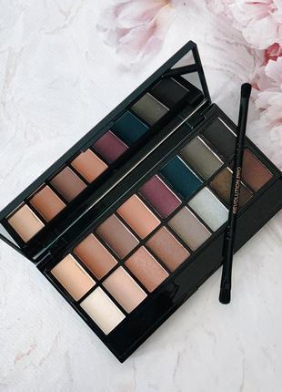"""Палетка теней «iconic pro 2"""" от «makeup revolution"""""""