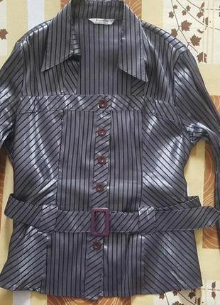 Оригинальный шик для женщин со вкусом-стрейчевая блуза- турция