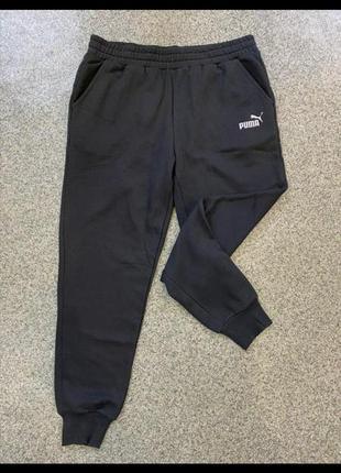 Фирменные мужские спортивные штаны на флисе puma оригинал