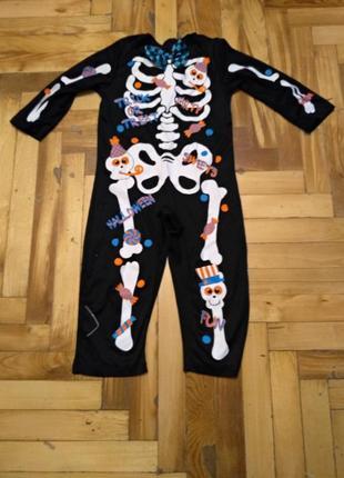 Классный карнавальный костюм на хеллоуин на 1,5-2 года