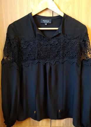 Блуза с кружевными вставками reserved, р.34-36