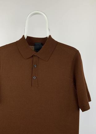 Оригинальная мягкая футболка поло h&m