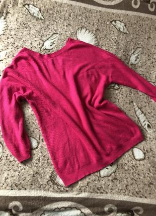 Тёплый свитер оверсайз джемпер пуловер кофта oberwiesz