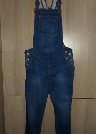 Комбинезон джинсовый yessica стрейчевый размер eur-40 наш 46-48