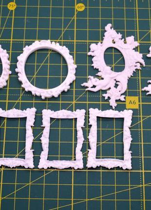 Пластиковые рамочки для скрапа, творчества, поделок, скрапбукинг, hм