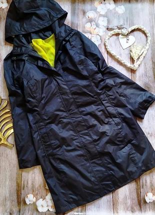 Водонепроницаемая куртка ветровка плащ , дождевик с капюшоном crane, размер s_m