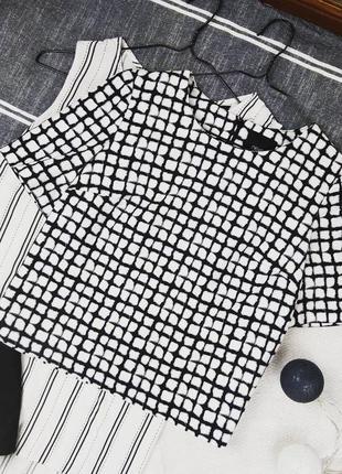 Хлопковая топ блуза кофточка прямого кроя next