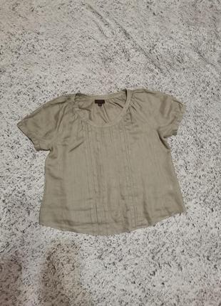 Блуза льняная, блуза, лен