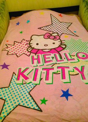Пододеяльник hello kitty