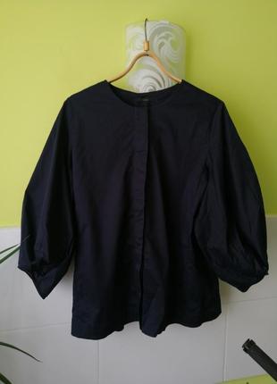 Рубашка с объёмными рукавами cos