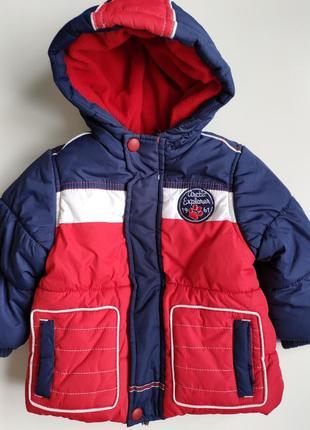 Детская теплая куртка mothercare